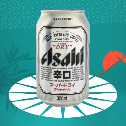 Bière japonaise Asahi - Japon