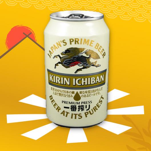 Bière Kiring Ichiban - Japon