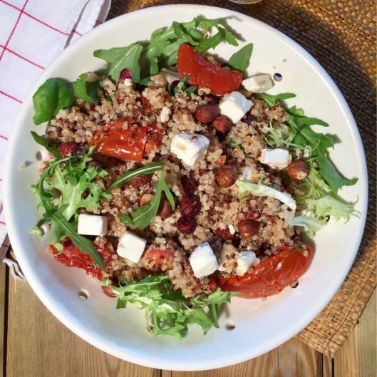 salade detox au quinoa