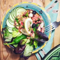 Salade de poulpe a la portugaise (Portugal)