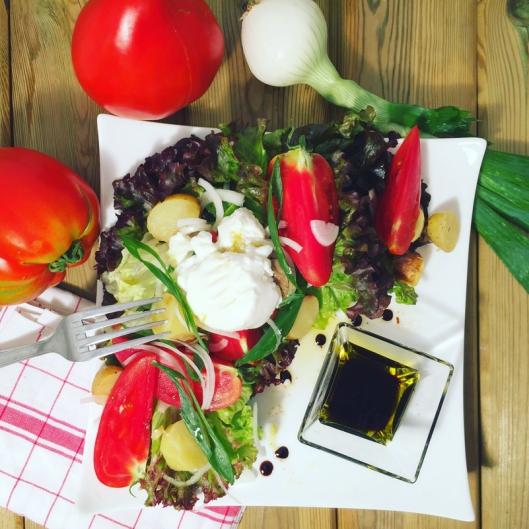 la meilleur salade des producteurs lyonnais