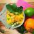 salade kiwi, mangue, citron vert, menthe