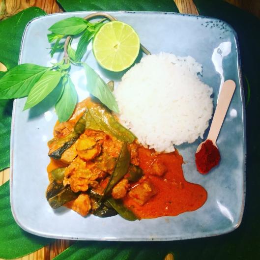 porc curry thai panang